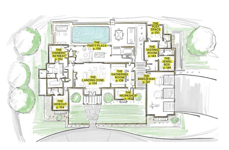 House beautiful whole house floor plan
