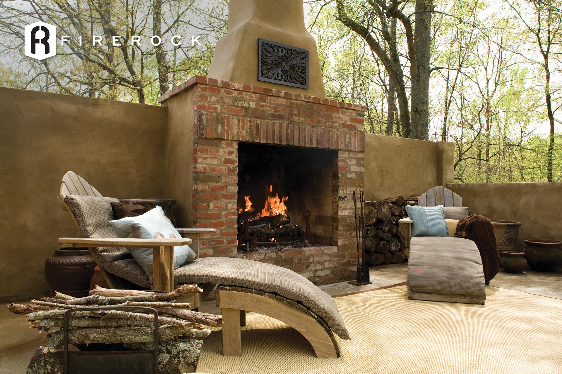 Outdoor Fireplaces Brick Com